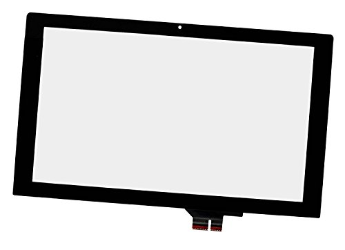 XJS 11.6' Touch Screen Digitizer Panel Front Glass Replacement for Asus Vivobook X200MA-RCLT07 X200MA-RCLT08(NO LCD,NO BEZEL)