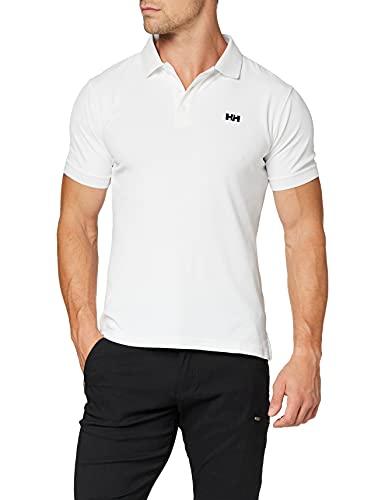 Helly Hansen Driftline Polo Camiseta tipo polo de manga corta con tejido de secado rápido y logo HH en el pecho