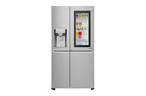 LG InstaView GSX960NSAZ Side by side, Standard, Inox