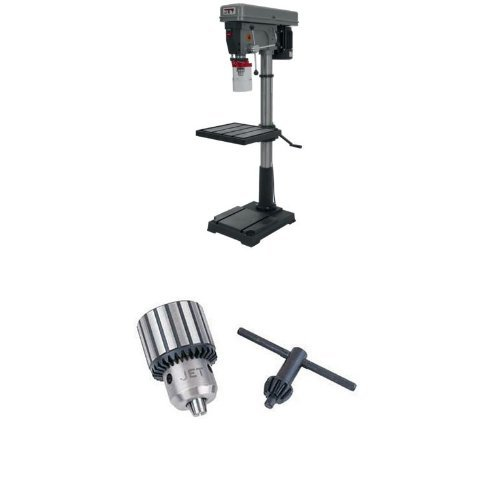 Best Prices! JET J-2550 20-Inch 1-Horsepower 115-Volt Single Phase Floor Model Drill Press with TDC-...