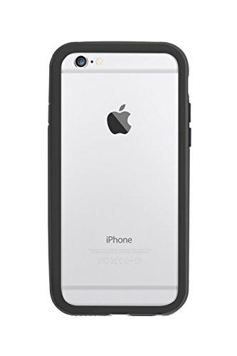 Ozaki OC567BK Shock Band zweifarbiger stoßabsorbierender Bumper für Apple iPhone 6 / 6S schwarz/grau