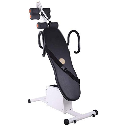 For Sale! ZYK Electric Gravity Heavy Duty Inversion Table with Headrest & Adjustable Protective Belt...