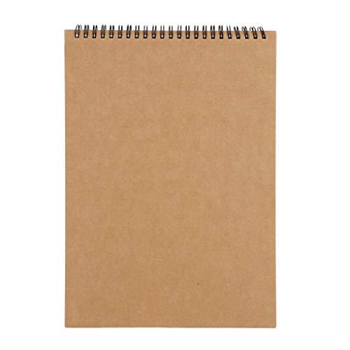 スケッチブック クロッキー 画用紙 a3 a4 子供 自由帳 メモ帳 無地 30枚/冊