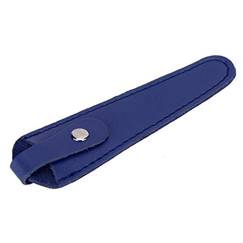 Emoshayoga Soporte para Almacenamiento de Tijeras Herramienta de peluquería Tijeras Profesionales Estuche para Tijeras Bolsa para peluqueros para peluquería para Almacenamiento de Tijeras para(Blue)
