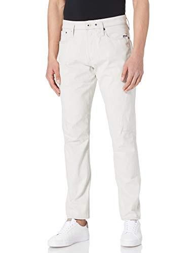 G-STAR RAW Scutar 3D Slim Tapered Jeans, Ecru C777-159, 36W x 32L Uomo