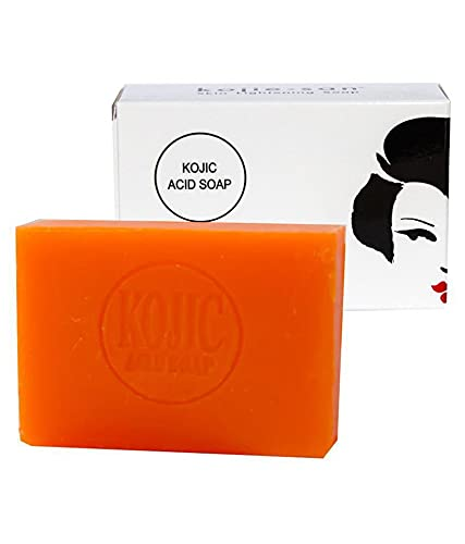 Kojie San Skin Lightening Kojic Acid Soap - 135 Gms | Skin Fairness | Remove Blemishes| Germs Protection| Anti-Ageing | Skin Brightening