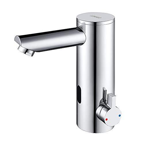 Lonheo Infrarot Sensor Wasserhahn Bad Waschtisharmatur, Automatische Waschbeckenarmatur Badarmatur für Aufsatzwaschbecken