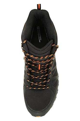 Mountain Warehouse Trekker II Mens Waterproof Softshell Boots – Phylon Midsole Shoes, Mesh Lined, Rubber Outsole…