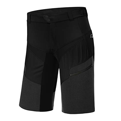 Protective P-Life is Wild 2021 - Pantalones cortos de ciclismo para hombre, color negro, negro, xxx-large