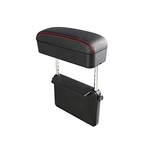 Ruiya Reposabrazos de coche universal para reposabrazos central, piel sintética, caja de almacenamiento
