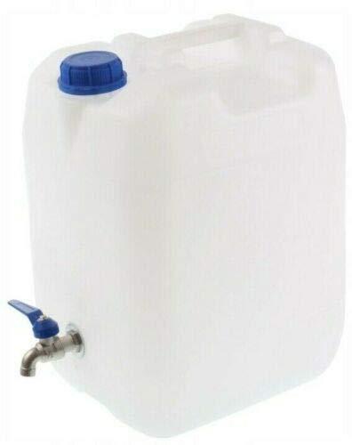 POKM Toolsmarket GmbH Bidon à eau avec robinet - Bidon d'eau potable - Bidon à eau - Réservoir d'eau - 20 l
