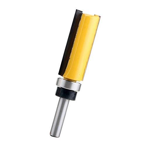 Fenteer Bündigfräser/Nutfräser/Schaftfräser, Schaft 1/4 ''(6,35 mm), Schnittlänge 20mm / 25mm / 38mm / 50.8mm - 50,8 mm