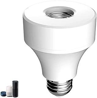 Casquillo de Luz Inteligente, TOSKON Smart WiFi Adaptador de Foco, Wi-Fi Light Socket Por APP Control de Aplicaciones , En...