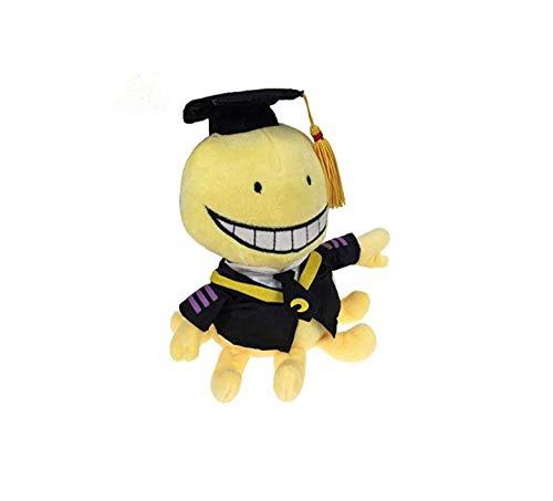 stogiit Peluche Lindo Pulpo Profesor Felpa Peluches Animales de Dibujos Animados Muñecas Niños graduados Regalos