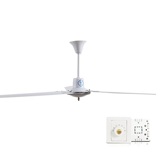 Mute Plafondventilator voor het huishouden, 56-inch Iron Leaf eetkamer woonkamer slaapkamer industriële ventilator 56 inch grote wind