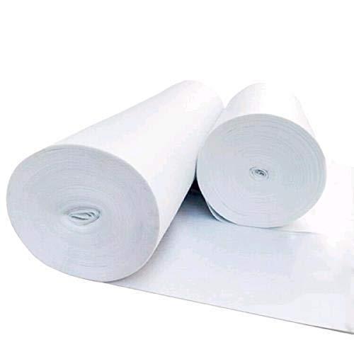 Alfombra nupcial de color blanco para bodas, ceremonias, eventos e iglesias, 1 x 5 metros