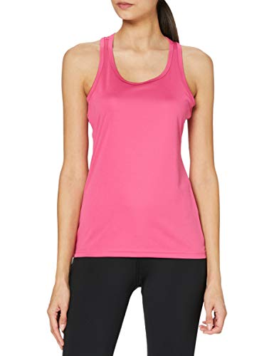Stedman Apparel Active Sports Top/St8110 - Top de sport - Femme - Rose-Sweet Pink, Taille : 10 ( Taile Fabricant : Small )