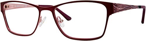 Eyeglasses Saks Fifth Avenue 318 00T7 Plum / 00 Demo Lens