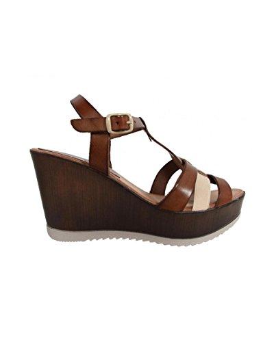 Cumbia Zapatos de cuña 30124 R1 para Mujer