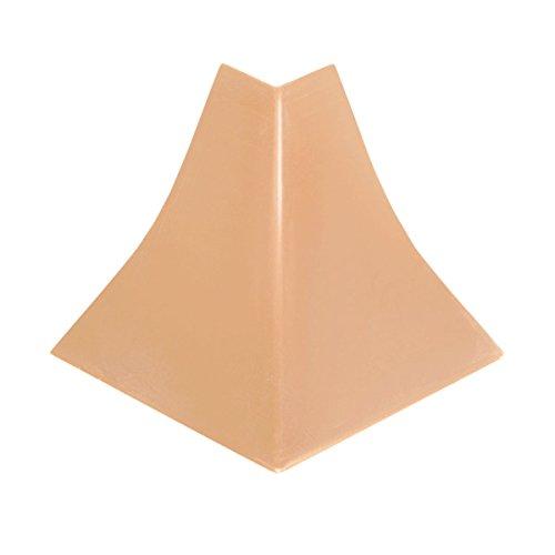HOLZBRINK Rinconera exterior: de PVC a juego con el copete de encimera haya 23x23 mm