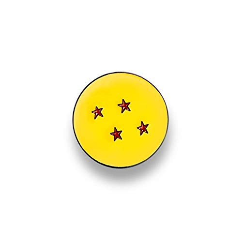 Dragon Ball Z Collectible | Dragon Ball Z 4 Star Soft Enamel Pin
