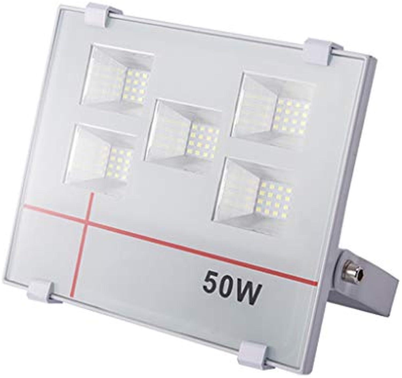 Arbeitslichter Im Freien WKZ LED Super Helle Flutlichter,Flutlichtstrahler Flutlicht,Fabrik Patio Stadium IP66 Wasserdicht (Farbe   Warmes Licht-50W)