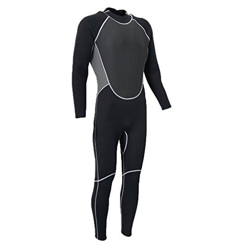 Injoyo Traje De Neopreno De 3 Mm para Hombre, Buceo, Surf, Natación, Kayak, Deportes Acuáticos, Calidez - L