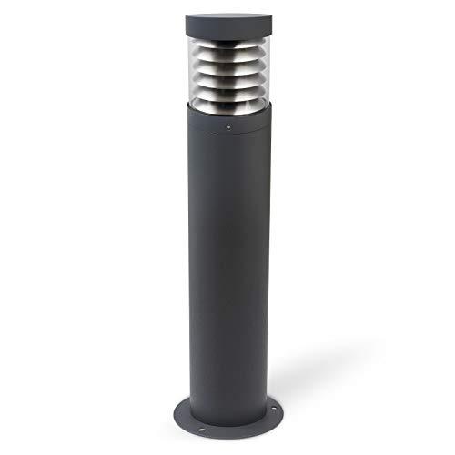 LED Außenstandleuchte Anthrazit Standleuchte Außen Garten Einfahrt Beet Outdoor Modell:SA21 IP44 E27 230V