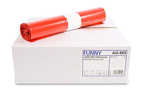 Funny - Bolsas de basura de polietileno de baja densidad (PE