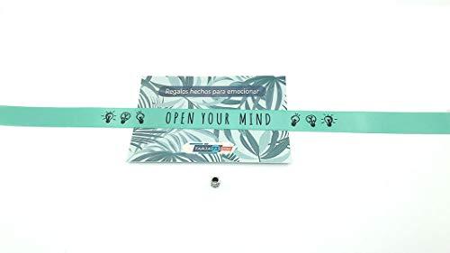 Stoffarmbänder mit Botschaft OPEN YOUR MIND   Originelles Geschenk