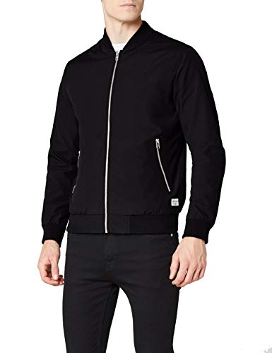 JACK & JONES Jornew Pacific, Chaqueta Bomber para Hombre, Verde (Thyme Thyme), Small