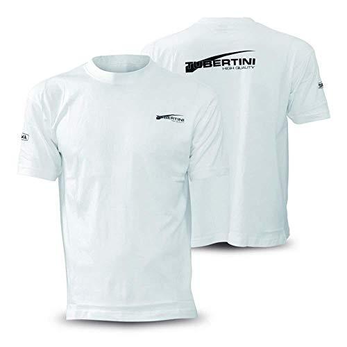 Tubertini Maglietta T Shirt da Pesca T-Shirt White XXL Spinning Mare Fiume Lago