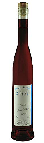 Fruchtiger Dornfelder Trauben Likör in einer hochwertigen Geschenkflasche