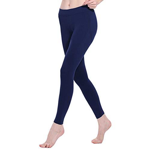 QINJLI yoga-joggingbroek meisjes, perzik hip nauw lopende fitness zeer snel droog stretchbroek witte lijn Medium B