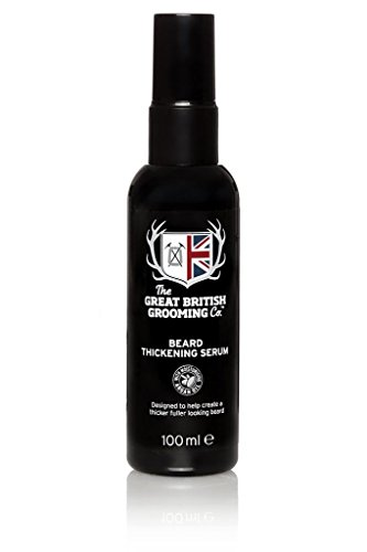 The Great British Grooming Beard Thickening Serum, per stuk verpakt (1 x 0,1 l)