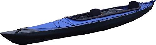 FUJITA CANOE(フジタカヌー) 折りたたみカヌー AL-2-430EBCS ブルー×チャコールグレイ