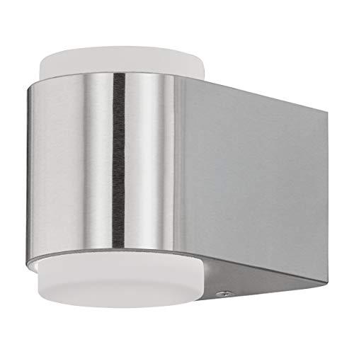 EGLO BRIONES lámpara de pared, 3 W, acero inoxidable