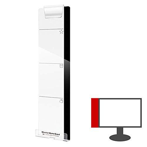 パソコン モニター ディスプレイ 付箋ボード メモボード モニターメモボード パソコンメモボード 透明ボード クリアボード 付箋 オフィス用品 事務用品 (右側用) PR-MMB-R