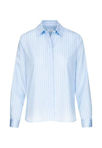 Seidensticker Damen Fashion 1/1 Bluse, Hellblau (11), 38