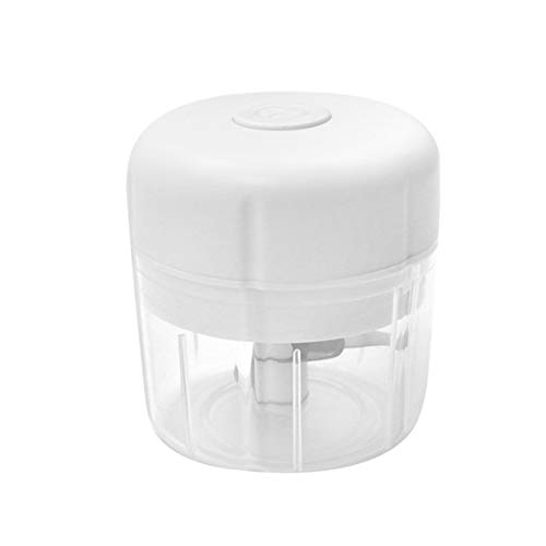 Wivarra Electric Small Food Processor, Food Choppers for Garlic Fruit,Salad Mincing & Puree,Kitchen,BPA Free,White