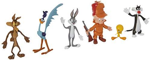 Desconocido NJ Croce Looney Tunes Bendable Figures (Set of Six) LT 4800-V2