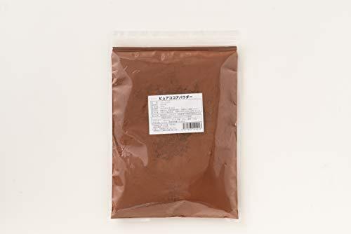 ピュアココアパウダー 500g 無添加 砂糖不使用 低GI カカオ ココア 健康食品 国内製造 チョコレート ココアパウダー お菓子