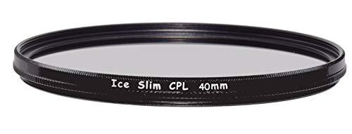 ICE Slim CPL 40mm Filter Circular Polarizer Optical Glass for Fuji Fujifilm X10 X20 X30 Camera