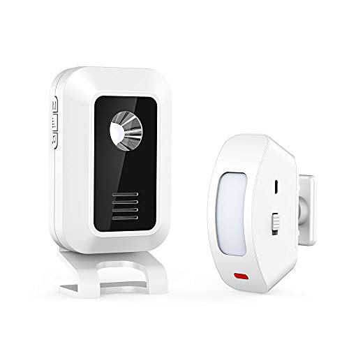 Best Prices! Motion Sensor Alarm, Wireless Home Security Driveway Alarm Welcome Entry Alert Chime fo...