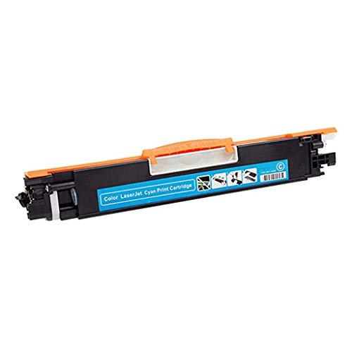 Compatible con HP CF350A Cartuchos Tinta Adecuado para Cartuchos Tinta Impresora De Tóner Hp130a M176nw Cartucho Multifunción M177fw Gran Capacidad De Tinta Combo,Azul