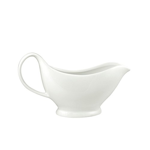 10 Strawberry Street Whittier 20 Oz Gravy Boat, White