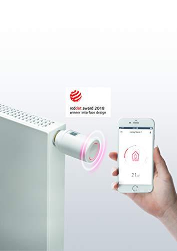Preisvergleich Produktbild Danfoss 014G1105 Eco Home-Eletronisches Heizkörperthermostat mit Bluetooth-Funktion Elektronischer,  programmierbarer Thermostat ALS Stand-Alone-Regler für Einzelne Räume,  für PL, CZ, LT, EE, LV & SI.