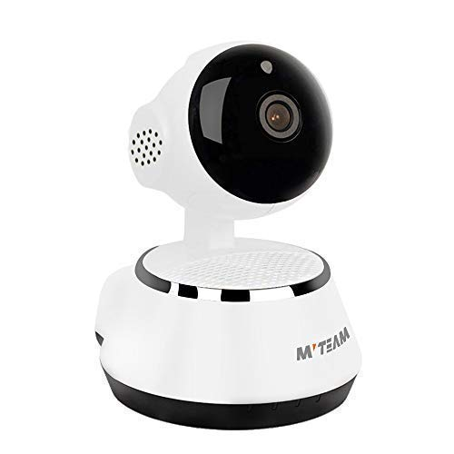 Home Security Camera, 1024P Wifi Dog Security Camera with Two-Way Audio, Motion Detection, Pan/Tilt, 2.4Ghz Wireless IP Surveillance Camera for Baby/Elder/Nanny/Pet Cat Monitoring