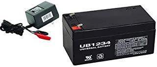 Universal Power Group 12V 3.4AH Replacement Battery For Toro Lawn mower # 106-8397 with CHARGER