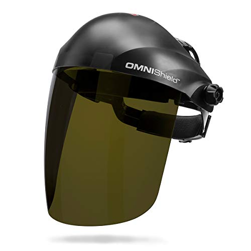 Lincoln Electric OMNIShield Professional Face Shield | Shade 3 IR Lens | Premium Headgear | K3753-1